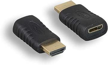 Cablelera HDMI Male to Mini HDMI Female Adapter (ZA5100MF)