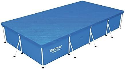 Bestway - Bâche 4 saisons pour piscine hors sol Steel Pro 400 x 211 x 81 cm