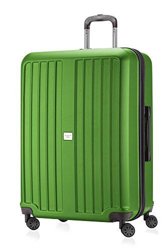 HAUPTSTADTKOFFER - X-Berg - Koffer Trolley Hartschalenkoffer, TSA, 75 cm, 128 Liter, Apfelgruen matt