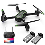LMRC LM01 5G FPV GPS Drone with 2K HD Camera (2 Batteries 30 min Flight Time,GPS Auto Return,Altitude Hold,Headless Mode,One Key Take Off/Landing,WiFi Live Video)
