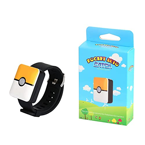 QWRT Pokemon Go Plus, Pulsera Cuadrada Recargable con Bluetooth, Pulsera De Captura Automática para Android iOS, Juguetes, Regalos para Niños