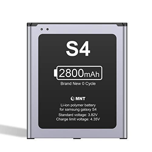 GUDTEKE Batería para Samsung Galaxy S4 Batería Interna de reemplazo de batería de ión de Litio 2650mAh Mejorada Samsung S4 Interna
