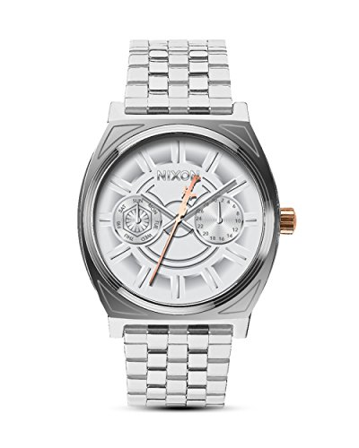 Nixon Reloj Analógico para Hombre de Cuarzo con Correa en Acero Inoxidable A922SW 2445-00