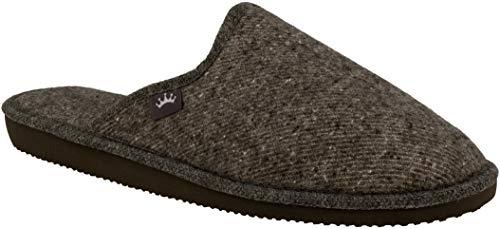 Zapatillas de Fieltro de Lana Natural para Hombre para el Bienestar Zapatillas Transpirables, Naturales, Hechas a Mano y de Calidad.