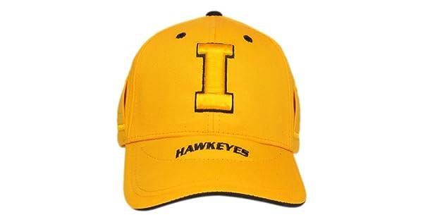 NCAA Iowa Hawkeyes EVOCAP Holds Eyewear in Place School Color Cap