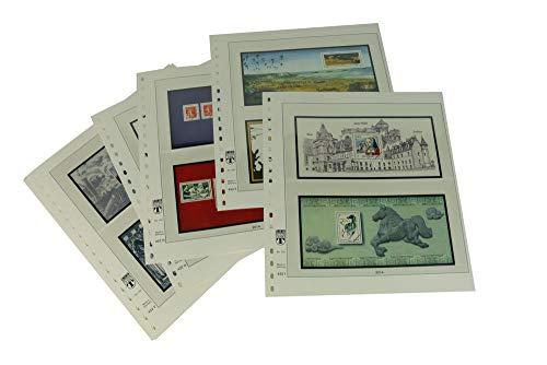 Lindner 132-14B Frankreich Souvenirblocks - Vordruckalbum Jahrgang 2014