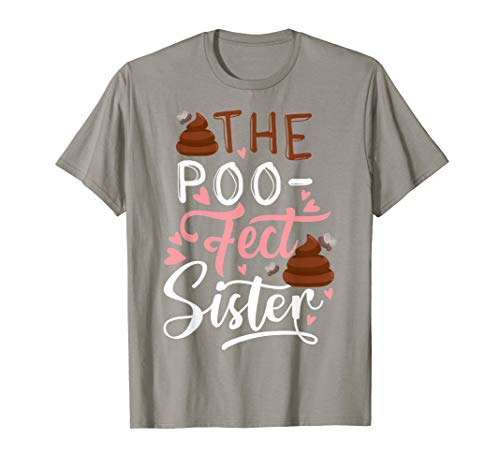 The Poo-Fect Poop Perfect Sister Funny Valentines Day T-Shirt