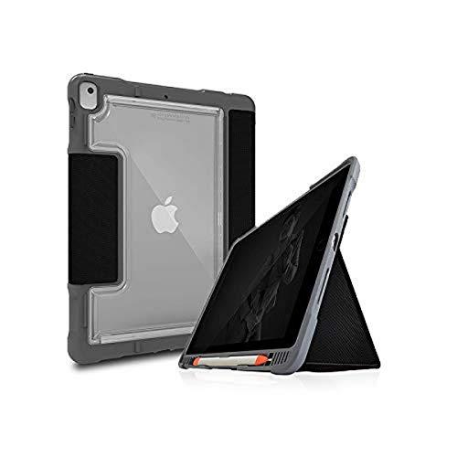 STM Dux Plus Duo, Ultra-Protective case for Apple iPad 8th/7th Gen - Black (stm-222-236JU-01)