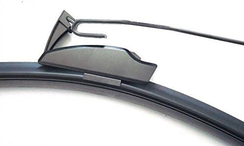 550 350 2x Wischergummi Scheibenwischer Gummis Ersatz Kompatibel Mit Bosch Aerotwin Scheibenwischer Inion 2x Ersatzgummi 550mm 350mm Auto