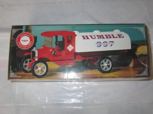 Exxon Limited edition HUMBLE Toy Tanker Truck by Exxon