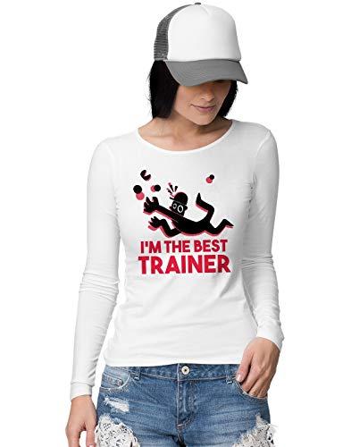 BLAK TEE Damen Best Trainer Langarmshirt S