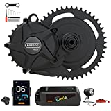 BAFANG 50.4V 1000W eBike Mid Drive Motor Conversion Kit with Battery, Charger, and Display, M625 M325 Electric Bike DIY Kit for Adults Mountain Bike Road Bike
