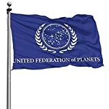 United Federation of Planets Flag Decorative Home Outdoor Flag 4 X 6 Ft Outdoor Flags Polyester Printed Banner Flags