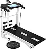 OSDFS Multifunctional Collapsible Compact Household Electric Treadmill-Desk Walking Treadmill Indoor...