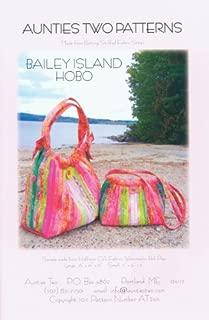 Aunties Two Patterns - Bailey Island Hobo Bag