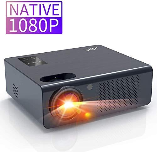 Artlii Vidéoprojecteur - Energon Plus, Videoprojecteur Full HD, Retroprojecteur natif 1920X1080P, Projecteur de Son Stéréo, Max 250 '', Compatible HDMI, PC, Mac,iPhone et PS4/XBOX/Switch