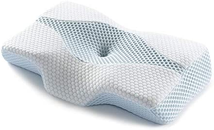 Mkicesky Memory Foam Neck Support Cervical Pillow Side Sleeper Contour Pillow Relief Neck Shoulder product image