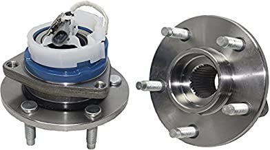 Detroit Axle 513121 Front Wheel Hub and Bearing Assembly Pair for Buick Century Regal, Chevy Impala Monte Carlo, Cadillac DTS Deville, Oldsmobile Intrigue, Pontiac Grand Prix Aztek Bonneville W/ABS