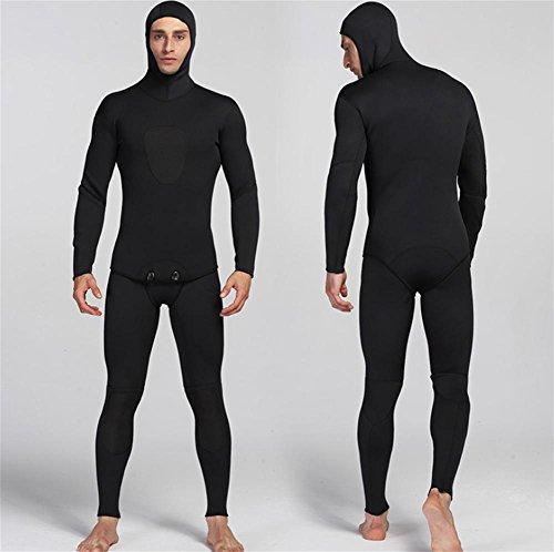 pengwei3mm Neopreno Negro Traje de Dos Piezas Traje de Surf Ropa, l
