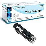 Nero Compatibile Toner Cartuccia per Xerox Phaser 6510 6510N 6510DN 6510DNI WorkCentre 6515 6515N 6515DN 6515DNI 6515DNW 6515NW Stampante Aseker Alta Capacità 5500 & 4300 Pagine (Nero x 1)