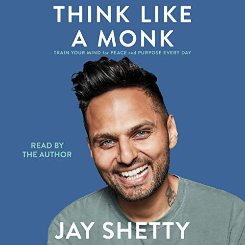 Page de couverture de Think Like a Monk