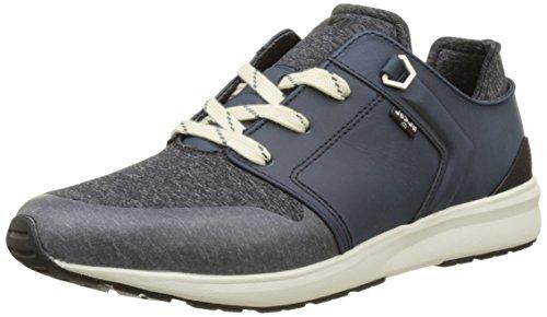 Levi's Herren Black Tab Runner Sneakers, Blau (Dark Blue), 40 EU