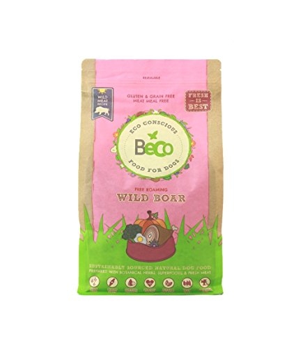 becofood Comida orgánico para Perros 2kg–Alimento Completo,...