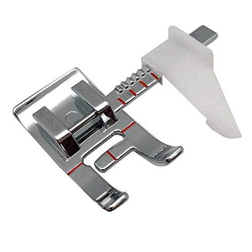 La Canilla - Prensatelas con Guía Ajustable para Máquina de Coser Alfa, Singer, Brother, Lidl, Silvercrest (Universal, Snap-on)