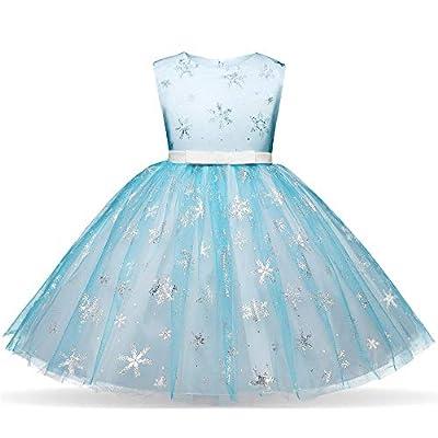 Kleines Mädchen Kleid Kurzarm/Langarm