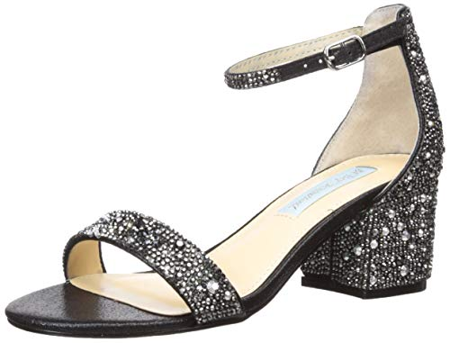 Blue by Betsey Johnson Women's Sb-mari Heeled Sandal