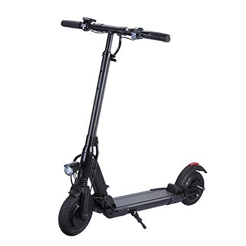 HECHEN Scooter Elettrico per Adulti E-Scooter Pieghevole con Display LCD Motore da 350 W, Pieghevole e Facile da trasportare velocità Fino a 30 km/h Sistema di frenatura a Doppio Pattino