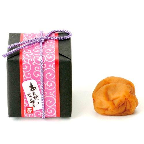 紀州南高梅の梅干し「寿」(1個)(和風のプチギフト)「ありがとうございます」のメッセージ付き