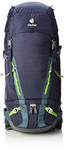 Deuter Guide 45 Plus Alpine, Zaino Unisex-Adulto, Blu (Navy-Granite), 19x25x44 Centimeters (B x H x T)