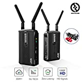 [Official] Wireless HDMI Video Transmission System, Hollyland Mars 300 5G Image Transmitter and Receiver Kit Support HD 1080P 300 Feet for Vlog, Live Streaming, Multi-Camera Production