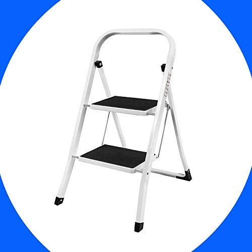 Telescopische trapladder 12,5 FT Aluminium Telescopische Ladder Extension Multi Purpose trapladder met Spring Loaded Locking Mechanism EN131 Niet-slip 330 lbs Max Capaciteit mini 2 stepladder