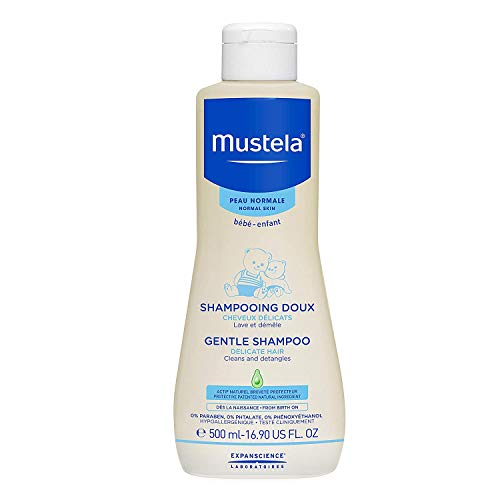 Mustela Bébé Gentle Champú Delicate Hair - 500 ml