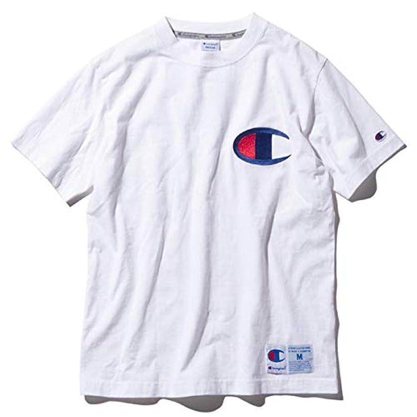 出来事あそこ抗生物質チャンピオン Tシャツ メンズ CHAMPION アクションスタイル 19SS ホワイト