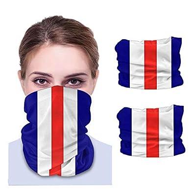 Kiyolyl Variety of face Towels Glasgow Rangers Adult Breathable Anti-dust Turban Neck Riding ma-sk (2pcs) Black