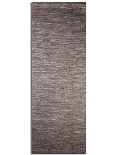 SeGaTeX home fashion Moderner Schiebevorhang Flächenvorhang Marian Paneele in Bambusstruktur braun