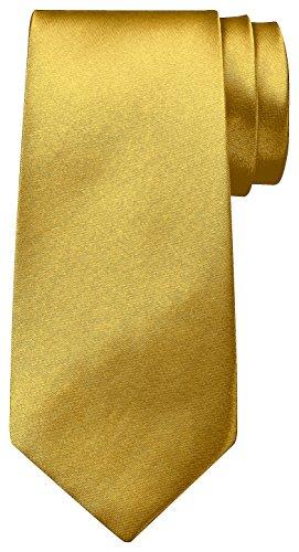 BomGuard 8 cm luxus-gold glänzend herren-krawatte damen seide männer frauen