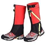 HomDSim Children Leg Gaiters Outdoor Waterproof Snow Gaiter for Kids Hiking Climbing Hunting Leg Cover Shoes Gaiters