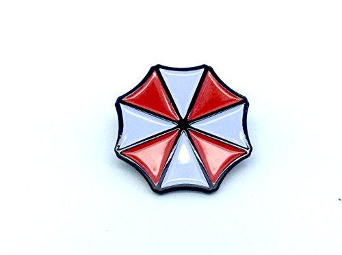 Patch Nation Umbrella Resident Evil Emblem Métal Pin Badge Cosplay Broche