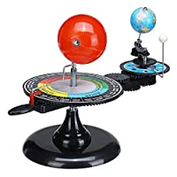 太陽系グローブ地球太陽月黄房プラネタリウムモデル子供のおもちゃ天文学の科学キットのティーチングツール