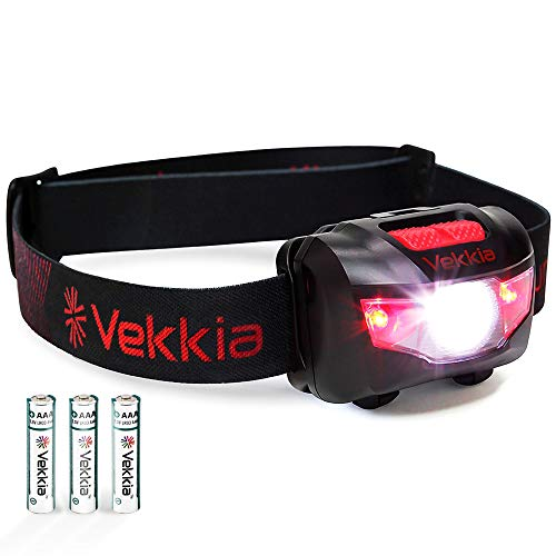 Our #4 Pick is the Vekkia Headlamp