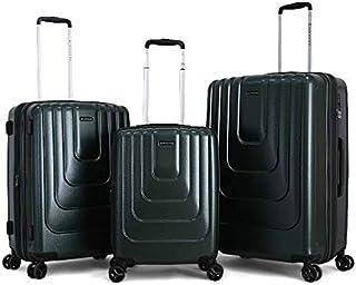 جيوردانو حقائب سفر بعجلات للجنسين 3 قطع ، اخضر ، 1629914