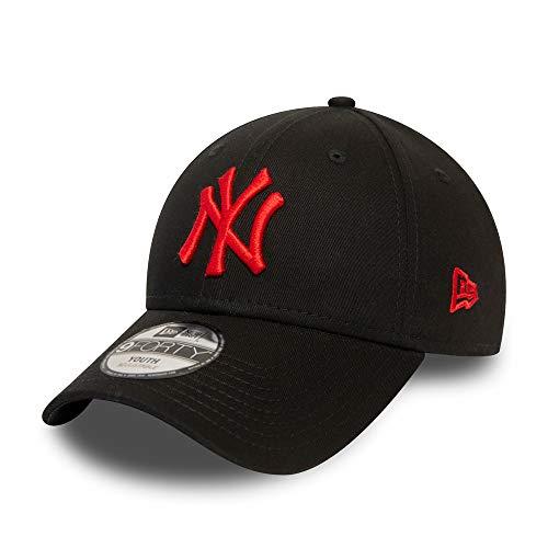 New Era New York Yankees Cap New Era MLB Kinder Kappe Verstellbar Baseball Cap Schwarz - Youth
