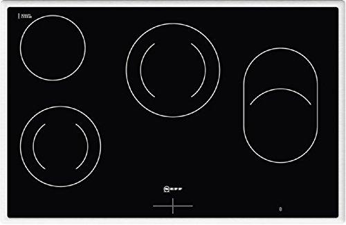 Neff MR 1383 N Kochfeld Elektro / Ceran/Glaskeramik / 79.5 cm / Gesamtanschlußwert 7600 W / schwarz