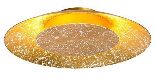 Nino Leuchten Lampada da soffitto, Argento, 10 x 22 x 7 cm