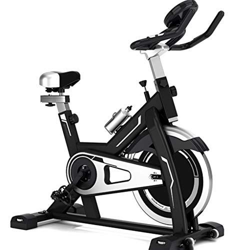YUESFZ Bicicletas estáticas Spinning Bicicleta Elíptica Bicicleta De Spinning Negra Correr Entrenamiento Cardio Trainer Uso En El Hogar Fitness Bike Trainer Interior Bicicleta Paso A Paso
