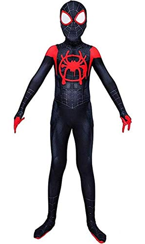Cosplay Costume Kids Suits Halloween 3D Style Bodysuit Costumes (Kid-M(Height 47-50Inch), Black)